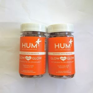 🆕 HUM x 2 glow sweet glow gummies with benefits